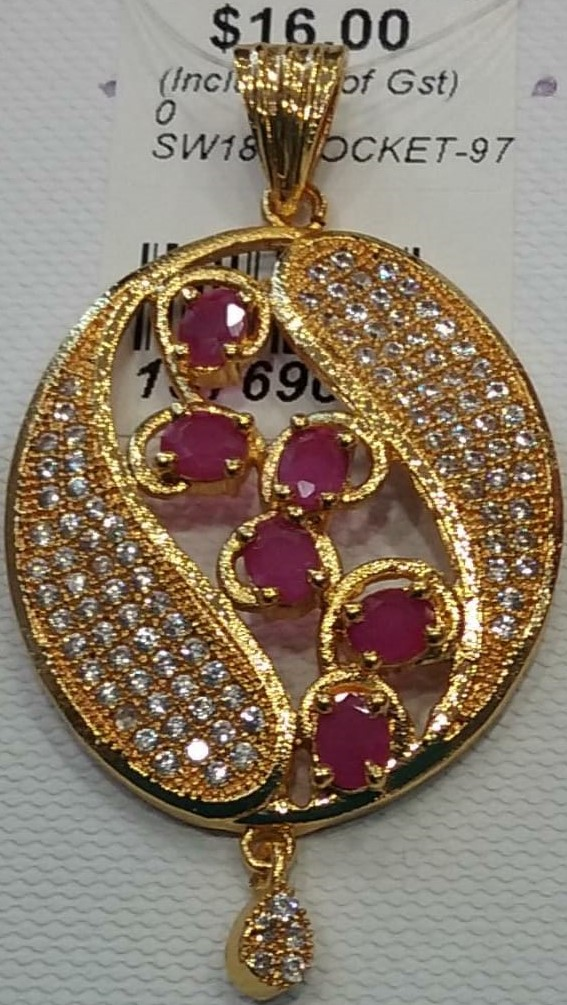 157690 $16.00 LOCKET GOLD PLATED